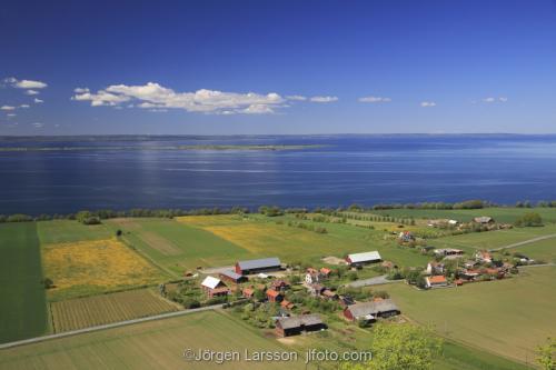Vattern Visingso lake Sodermanland