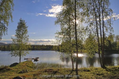 Lake spring Boden Sodermanland