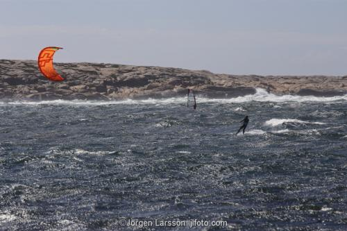 Windsurfare Bohuslän Sverige
