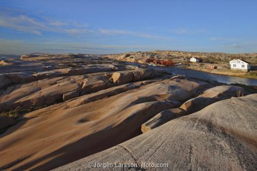 Fykan Ramsvikslandet Bohuslän Hav Vatten Kust skärgård Sverige granit klippor