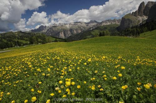 Passo Sella Dolomiterna Italien