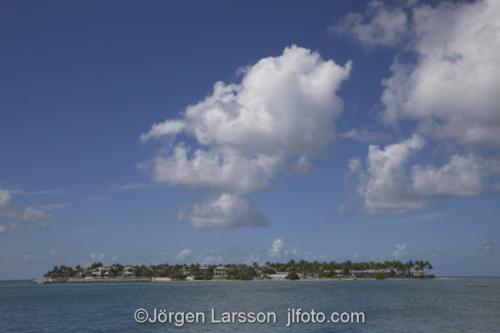 Key West Florida USA  Öar  hav moln