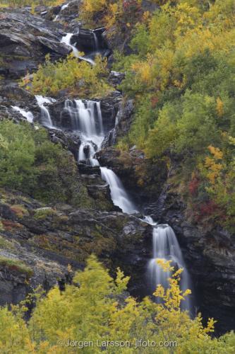 Lappland Laponia Autumn Sweden