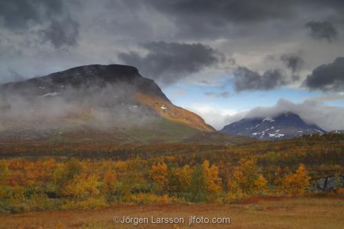 Lappland Katterjåkk Höst