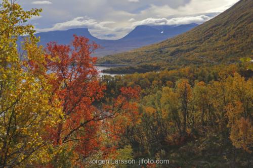 Lappland Lapporten Höst