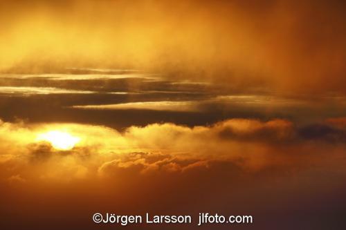 Solnedgång Moln  Madeira
