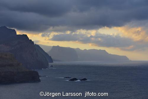 Madeira  Portugal north sidecoast,