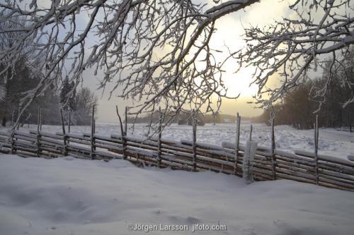 Grödinge vinter Södermanland Sverige