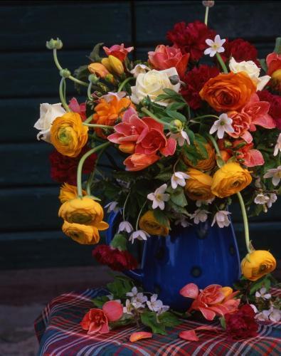 Arrangerade blommor