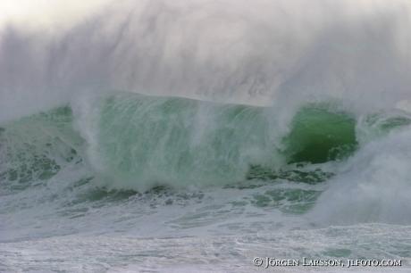 Våg som bryter   Bohuslän