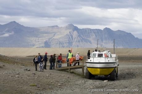 Jökulsarlón Island amfibiebåt