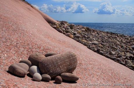 Blå Jungfrun national park Stensliperiet