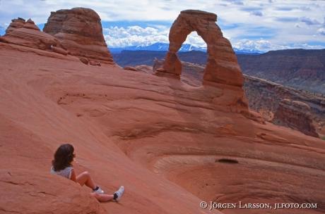 Delicate Arch Arches nat park Utah USA
