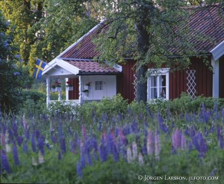 Lerbo utanför Katrinehom Södermanland Sverige