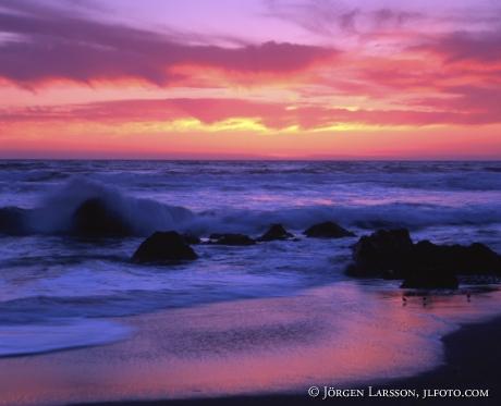Sunset Calofornia USA