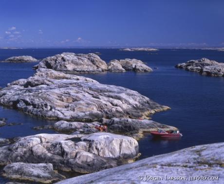 Norra Väderöarna Bohuslän Sverige