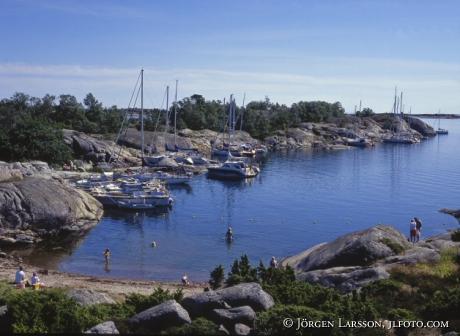 Bullerö Stockholms skärgård Sverige