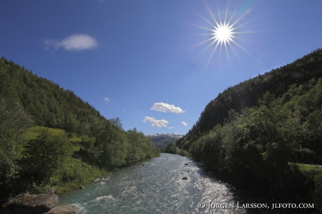 Dalgång flod
