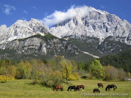 Dolomiterna Italien