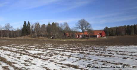 Farmer house at Nas Grodinge Sodermanland Sweden