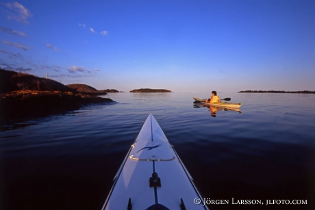 Canoeing Smaland Sweden harmony kajak