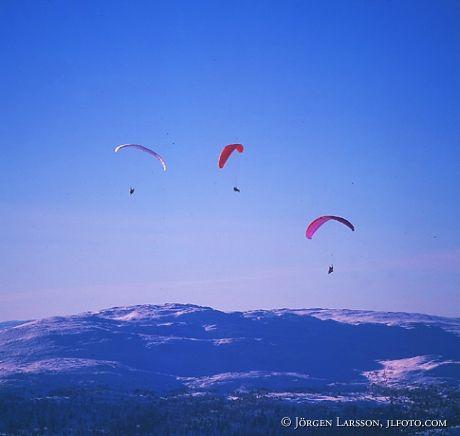Parachutes Are Jämtland Sweden