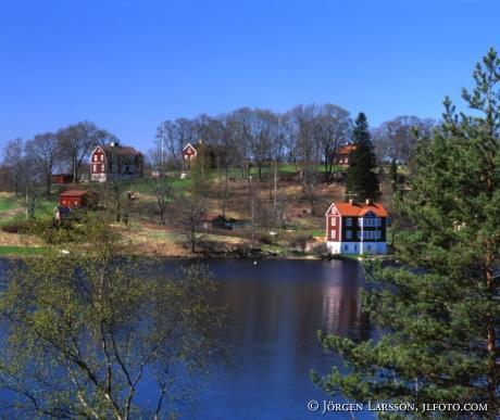 Vid Solbacka nära Stjärnhov Södermanland