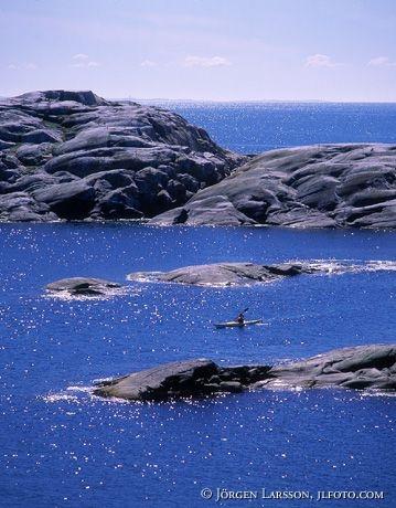 Canoe Vaderoarna Bohuslan Sweden