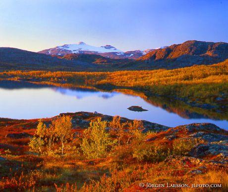 Vassijaure Lappland Sweden
