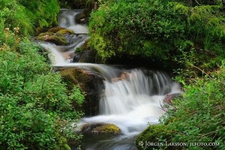 Waterfall Lill Rondan Harjedalen Sweden