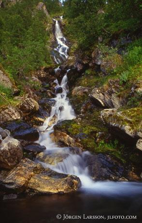 Waterfall Senja Norway