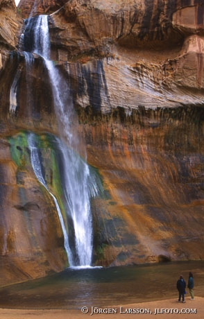 Waterfall Escalante USA