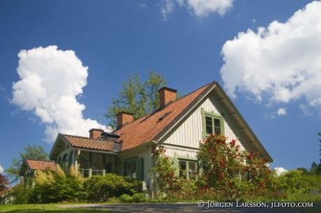 Villa med Rosor vid Ulriksdals slott Stockholm