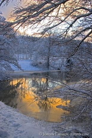 Creek Jarna Sodermanland Sweden
