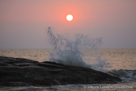 India Kerala Lighthouse Beach