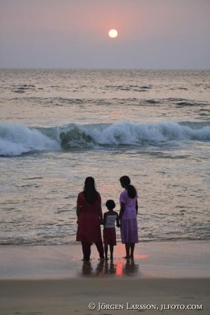 Indien Kerala Lighthouse Beach