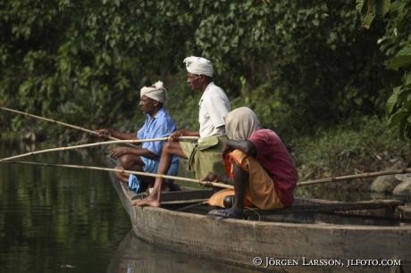 Backwater Kerala India