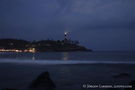 Lighthouse Beach Kerala Indien