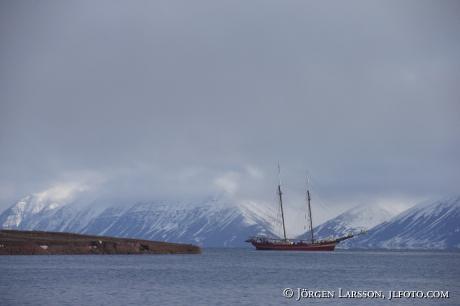 Fjord  mountainscape