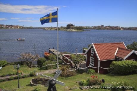 Brändaholm kolonistugor Karlskrona Blekinge