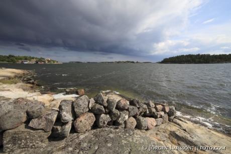 Nävelsö Tjusts skärgård Småland Sverige