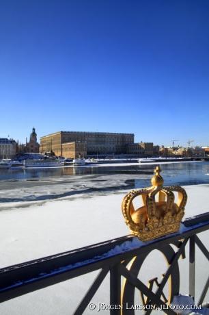 Stockholm castle winter