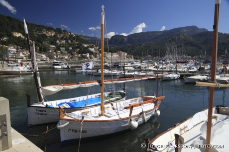 Pórt de Soller Mallorca Spanien