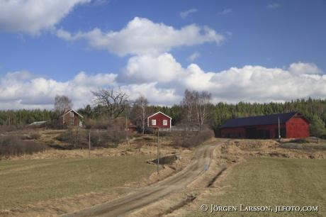 Gårdar på Mörkö Södermanland Sweden