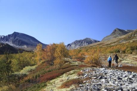 Vandrare Rondane Dörålseter Norge