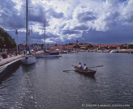 Roddbåt hamn