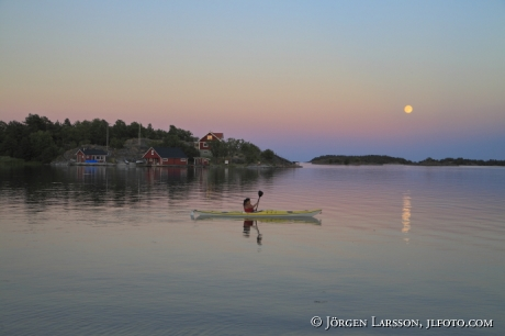 Kanot Tjusts skärgård Småland Sverige