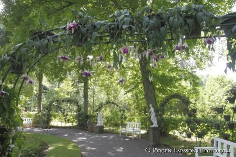 Trädgård vid Soliden Öland Sverige