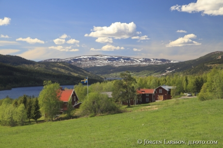 Åredalen Indalsälven Jämtland  Sverige