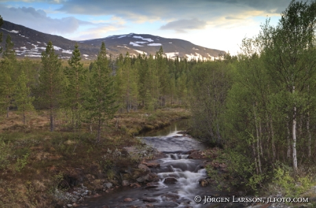 Lillsnasen Jämtland Sverige